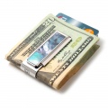 Mother of Pearl Gray Money Clip