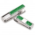 Rodeo Dark Green Alliagtor 2 Pocket Money Clip