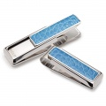 Rodeo Light Blue Alligator Money Clip