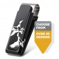 Sportsman Black Aluminum Money Clip