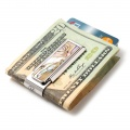 Mother of Pearl Yellow Abalone Money Clip