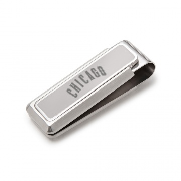 Chicago Cubs Stainless Money Clip