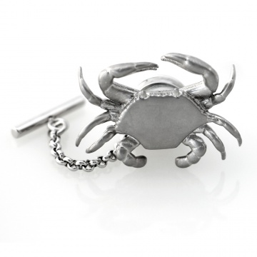 Crab Pin - Antiqued