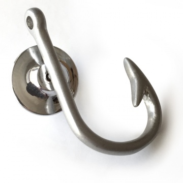 Hook Pin - Antiqued