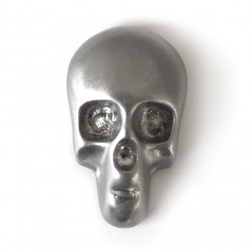 Skull Pin - Antiqued