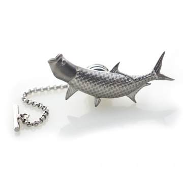 Tarpon Pin - Antiqued