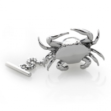 Crab Pin - Polished