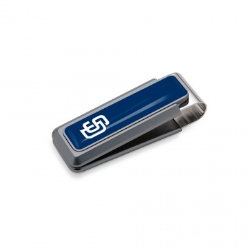 San Diego Padres Money Clip - Urethane Inlay