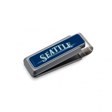 Seattle Mariners Money Clip - Urethane Inlay