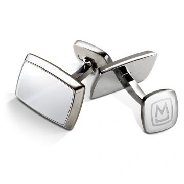 Polished Stainless Cufflinks