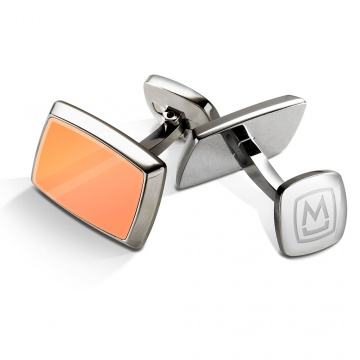 Rose Gold Inlay Cufflinks
