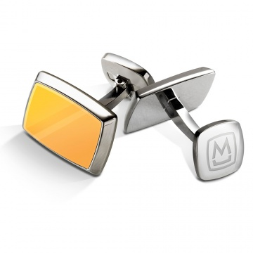 Yellow Gold Inlay Cufflinks
