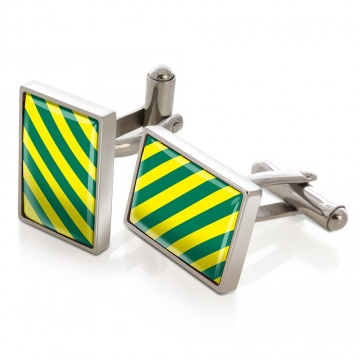 Green & Yellow Inlay Cufflinks