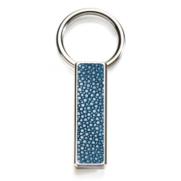 Bayside Blue Stingray Key Ring