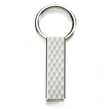 Golf Ball Skin Key Ring