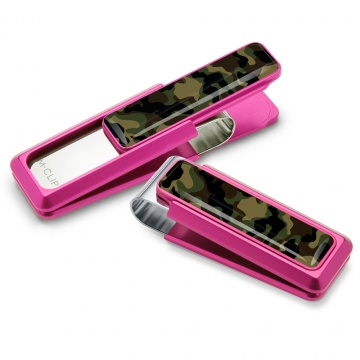 Pink With Camo Money Clip