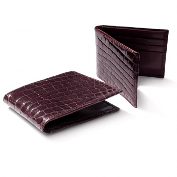 Dark Brown Alligator Wallet