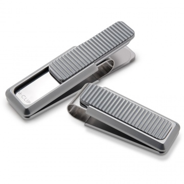 Linear Pattern Money Clip