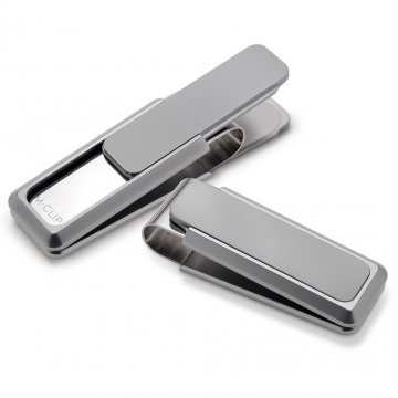 Natural Solid Slide Money Clip