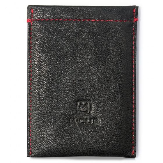 Black Leather RFID Case