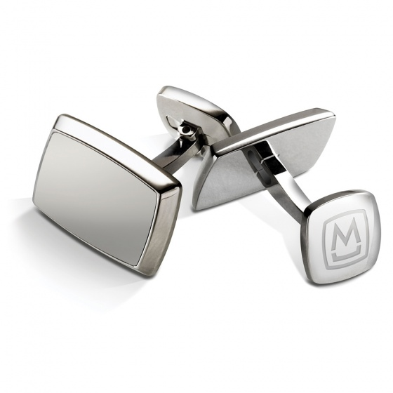 Brushed Stainless Cufflinks