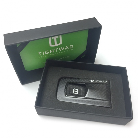 Tightwad Money Clip - Carbon Fiber