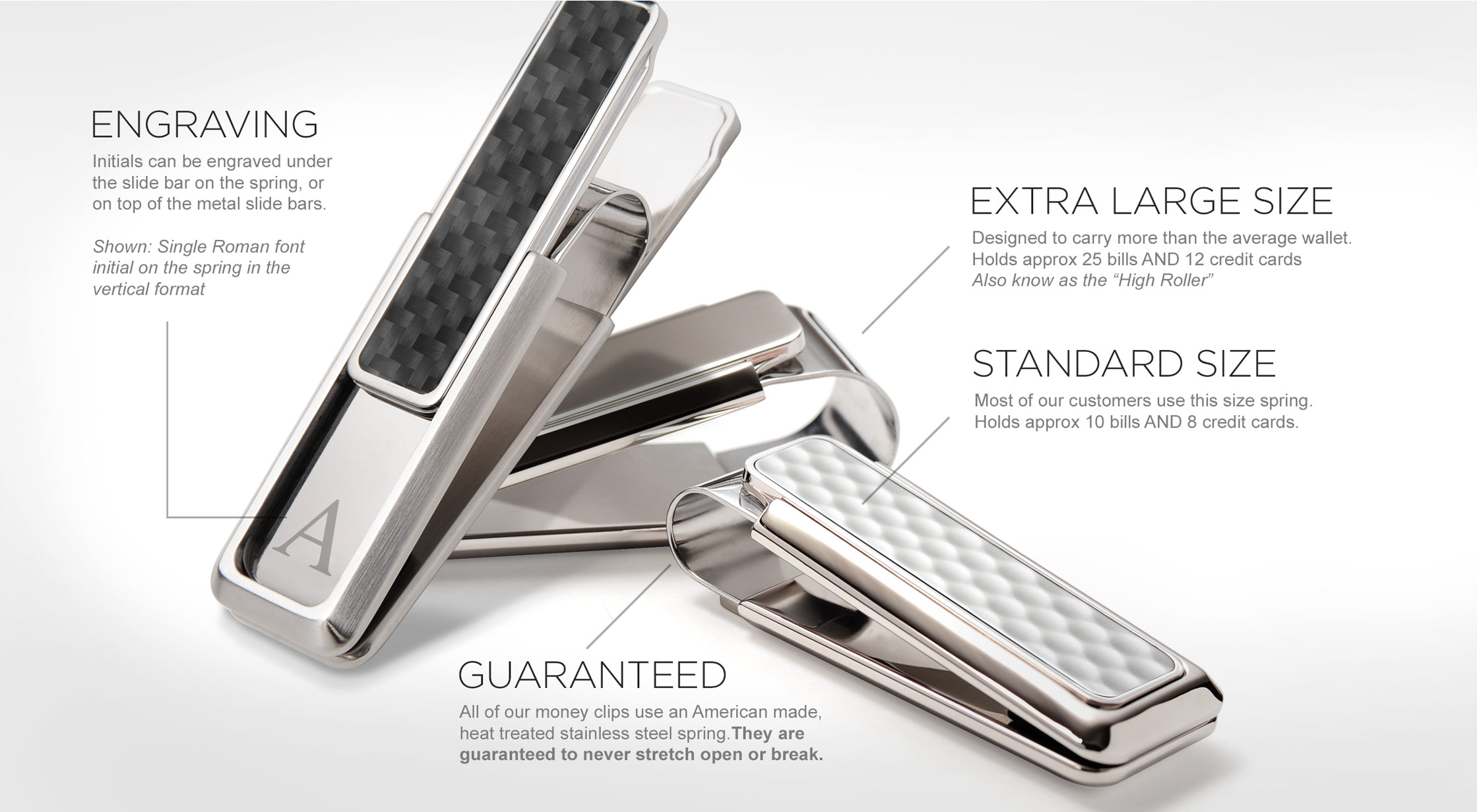 About our Money Clips